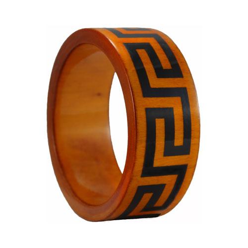 flat-wooden-bangles-bracelets-greek-key-honey