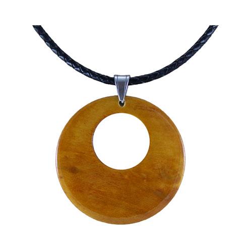 Wooden pendants tree top jewels pendant necklace honey colour aloadofball Gallery