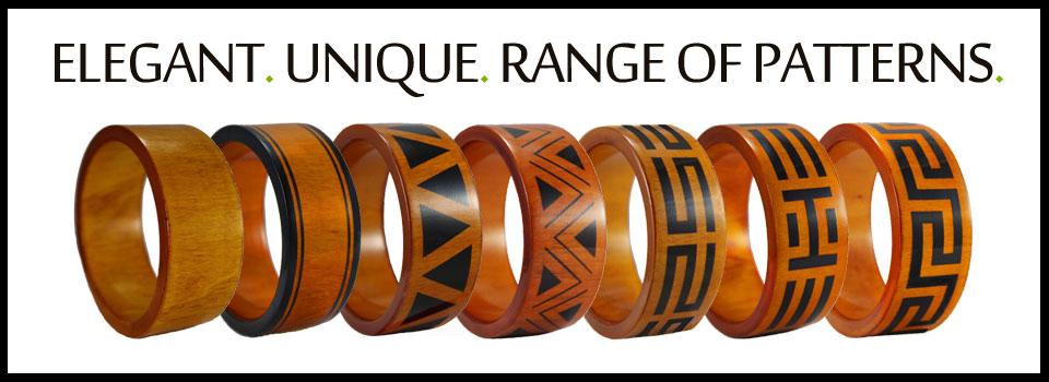 wooden jewellery - patterns